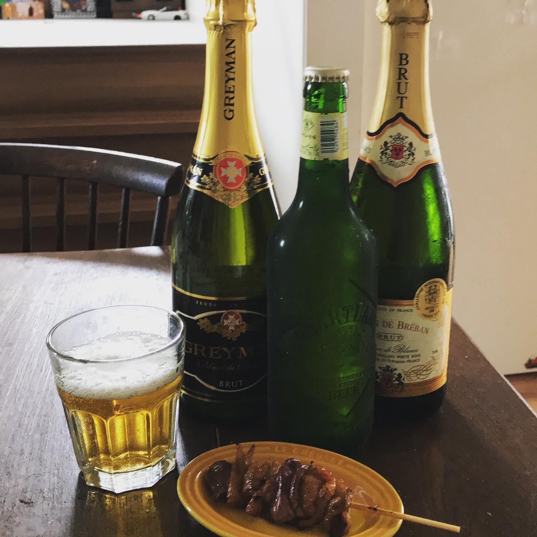 蒸し暑い週末、爽やかなシュワシュワとハートランドビールと焼き鳥で至福な家時間を…過ごしまーす! By ジャーナル社長